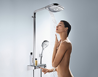 Hansgrohe Shower System with Select Technology
