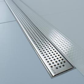 ACO ShowerDrain E+/M+ design cover Quadrato for shower channel: 90 cm