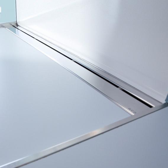 ACO ShowerStep gap wedge right, electro-polished