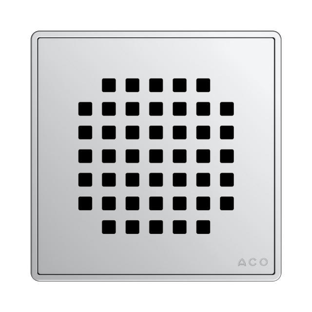 ACO Quadrato designer grate L: 14 W: 14 cm