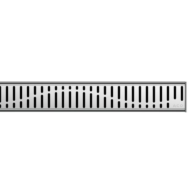 ACO ShowerDrain C designer cover Wave L: 120 cm