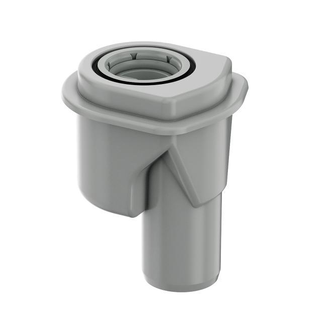 ACO ShowerDrain M+ drain body, socket version 90°, DN50, water trap height 5 cm