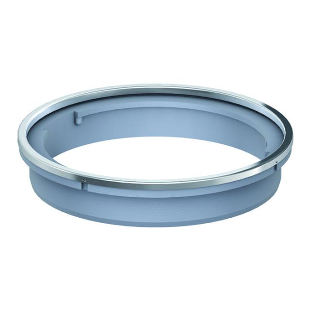 ACO ShowerFloor stackable frame for designer grate round