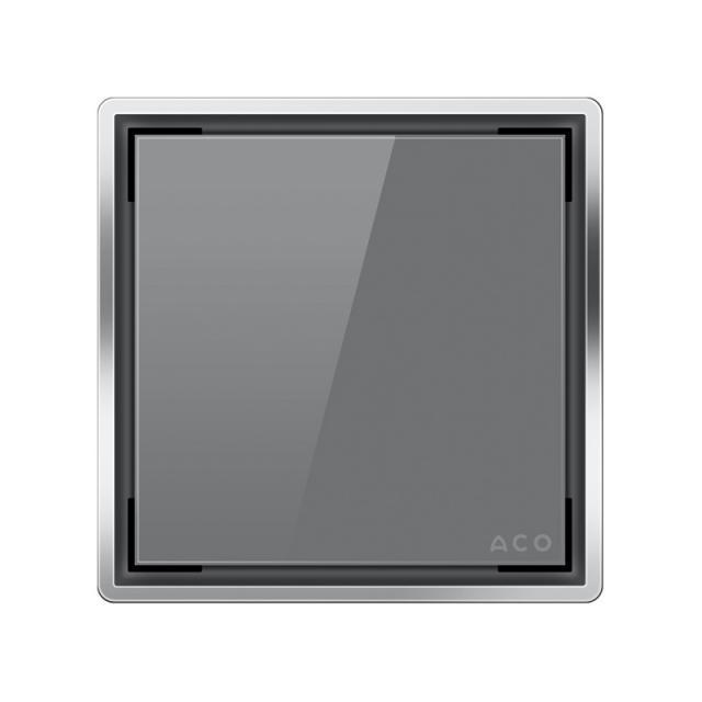 ACO Unidekor glass design cover grey