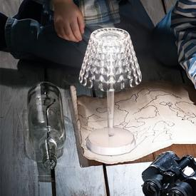 AI LATI Tiffany USB LED table lamp with dimmer