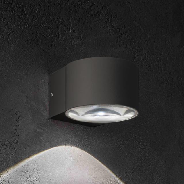 AI LATI Lens LED wall light, 1 head