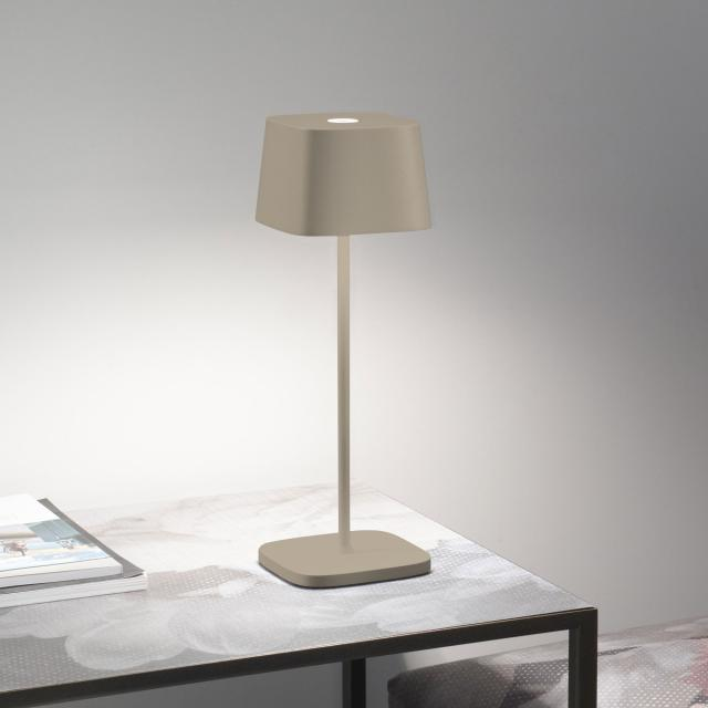 AI LATI Ofelia Pro rechargeable LED table lamp with dimmer