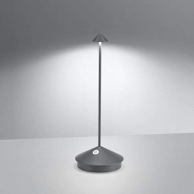 AI LATI Pina Pro rechargeable LED table lamp with dimmer