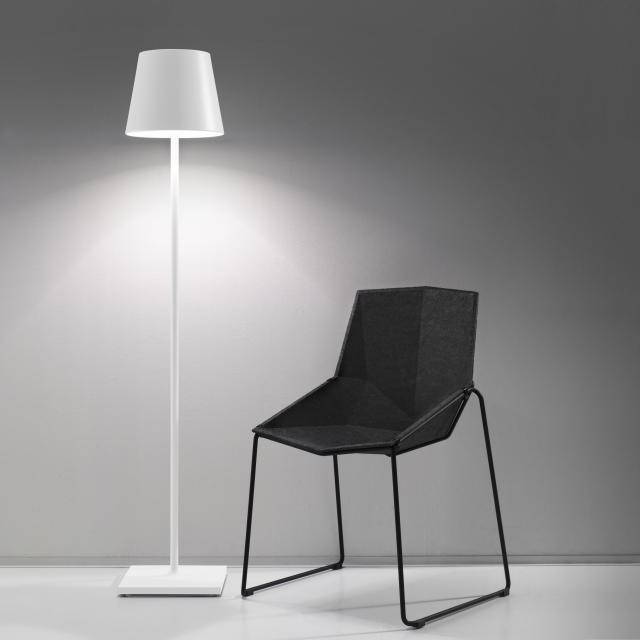 AI LATI Poldina Pro rechargeable LED floor lamp with dimmer and CCT
