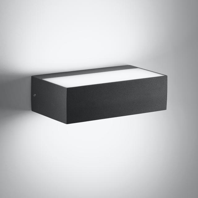 AI LATI Sottosopra LED wall light, rectangular