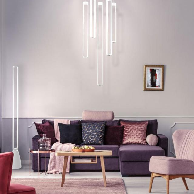 AI LATI Stripe LED pendant light, vertical