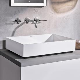 Alape AB.ME countertop washbasin white, with easy-care coating