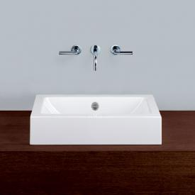 Alape AB.R countertop washbasin white, with easy-care coating