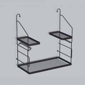 Alape AG. Utensilo steel rack for utility basin