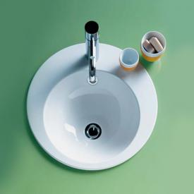 Alape EB built-in washbasin white, with overflow