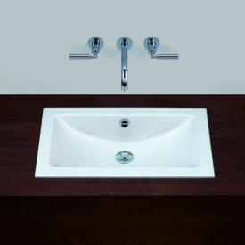 Alape EB.R built-in washbasin white, with easy-care coating, with overflow