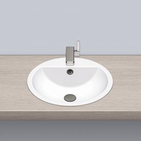 Alape drop-in washbasin white