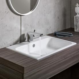 Alape Stream EB.SR650 built-in washbasin white, with easy-care coating