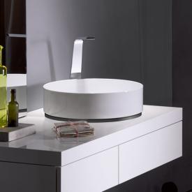 Alape AB.KE countertop washbasin white, with easy-care coating