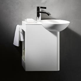 Alape WP.Insert wash place basin right, shelf white