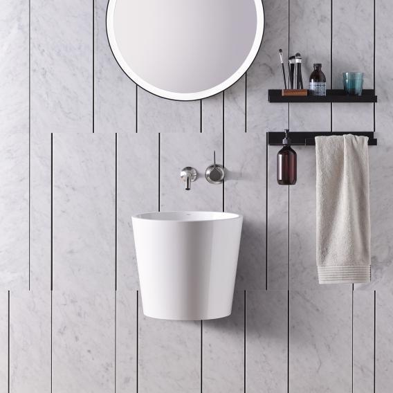 Alape Scopio WT.CO400/H washbasin without tap hole