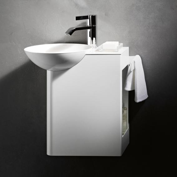 Alape WP.Insert wash place basin left, shelf white