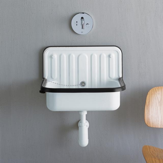 Alape AG.STAHLFORM510Ü utility basin white