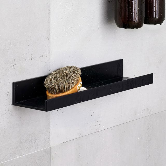 Alape Assist shower shelf matt black