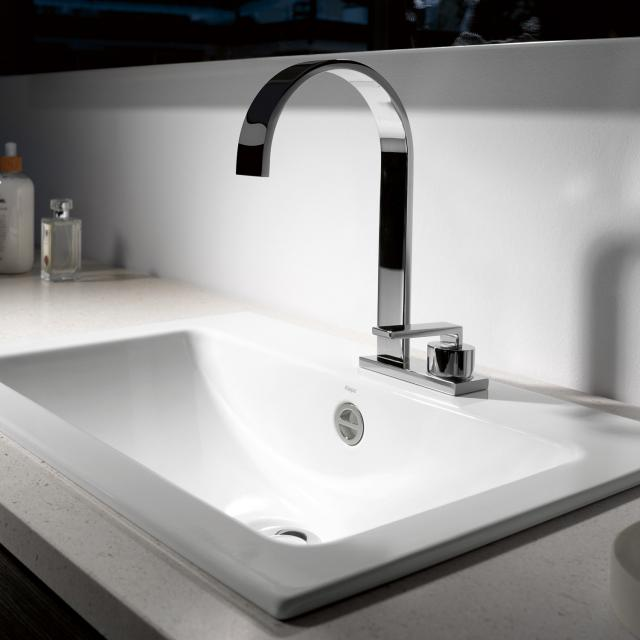 Alape EB.R drop-in washbasin with overflow