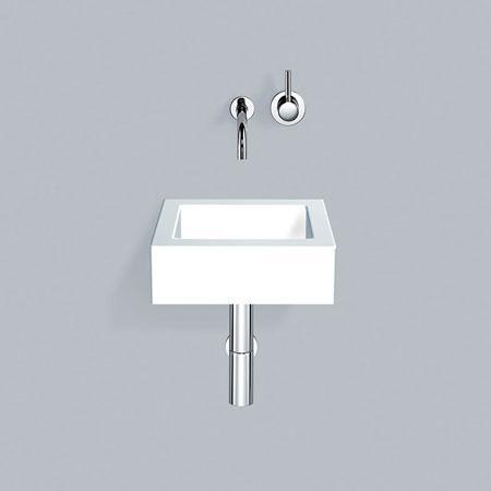 Alape WT.QS washbasin without tap hole