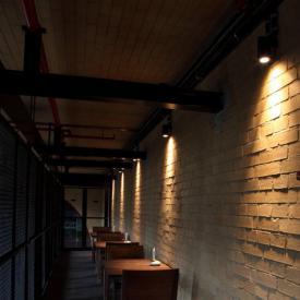 Albert adjustable spotlight for pressed glass reflector bulbs