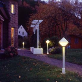 Albert cast aluminium path light