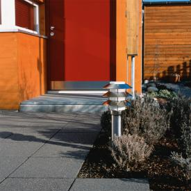 Albert stainless steel pedestal light