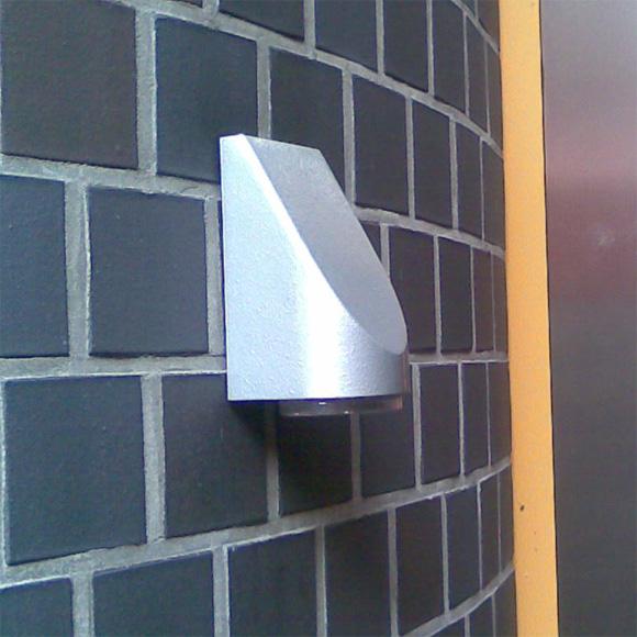 albert cast aluminium wall light