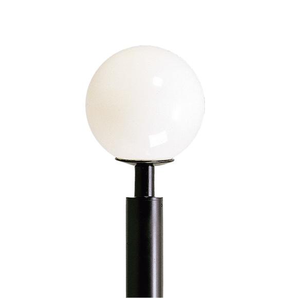 albert Kugel lamp with lamp post