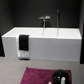 antoniolupi BIBLIO rectangularm bath with panelling 3 sided
