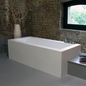antoniolupi BIBLIO rectangular semi-built-in bath