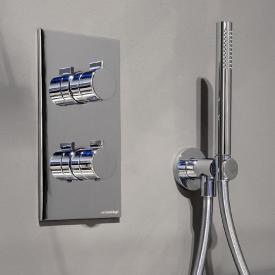 antoniolupi BIKAPPA concealed thermostat with diverter chrome