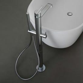 antoniolupi BIKAPPA freestanding, bath spout with hand shower chrome