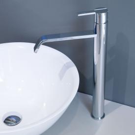 antoniolupi BIKAPPA single lever basin mixer without pop-up waste set chrome