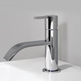 antoniolupi BIKAPPA single lever basin or bidet mixer without pop-up waste set chrome