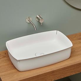 antoniolupi BLOOM countertop washbasin matt white