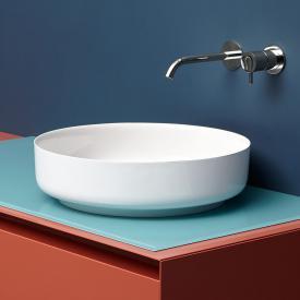 antoniolupi BOLO countertop washbasin white gloss
