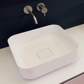 antoniolupi BOLO countertop washbasin matt white