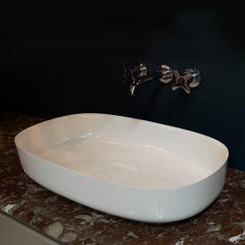 antoniolupi BOLO countertop washbasin white gloss