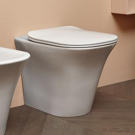 antoniolupi CABO floorstanding washdown toilet with toilet seat Flat white