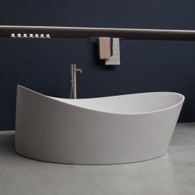 antoniolupi DUNE freestanding round bath waste satin stainless steel