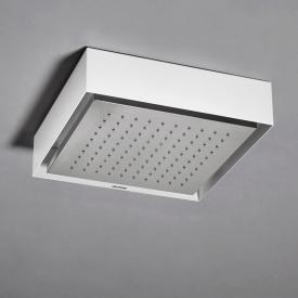 antoniolupi FUORIMETEO SLIM overhead shower polished stainless steel/white, without lighting