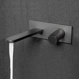 antoniolupi INDIGO concealed, single lever basin mixer projection: 235 mm, graphite