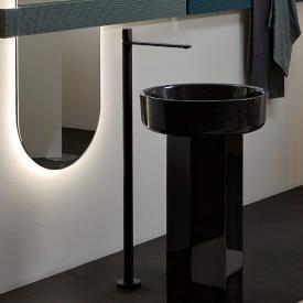 antoniolupi INDIGO freestanding, single lever basin mixer matt black